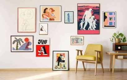 Is it possible to organize an art exhibition at home?